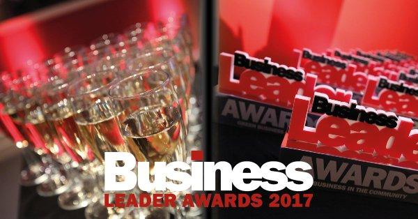 Busienss Leader Awards 2017 Stirling Dynamics