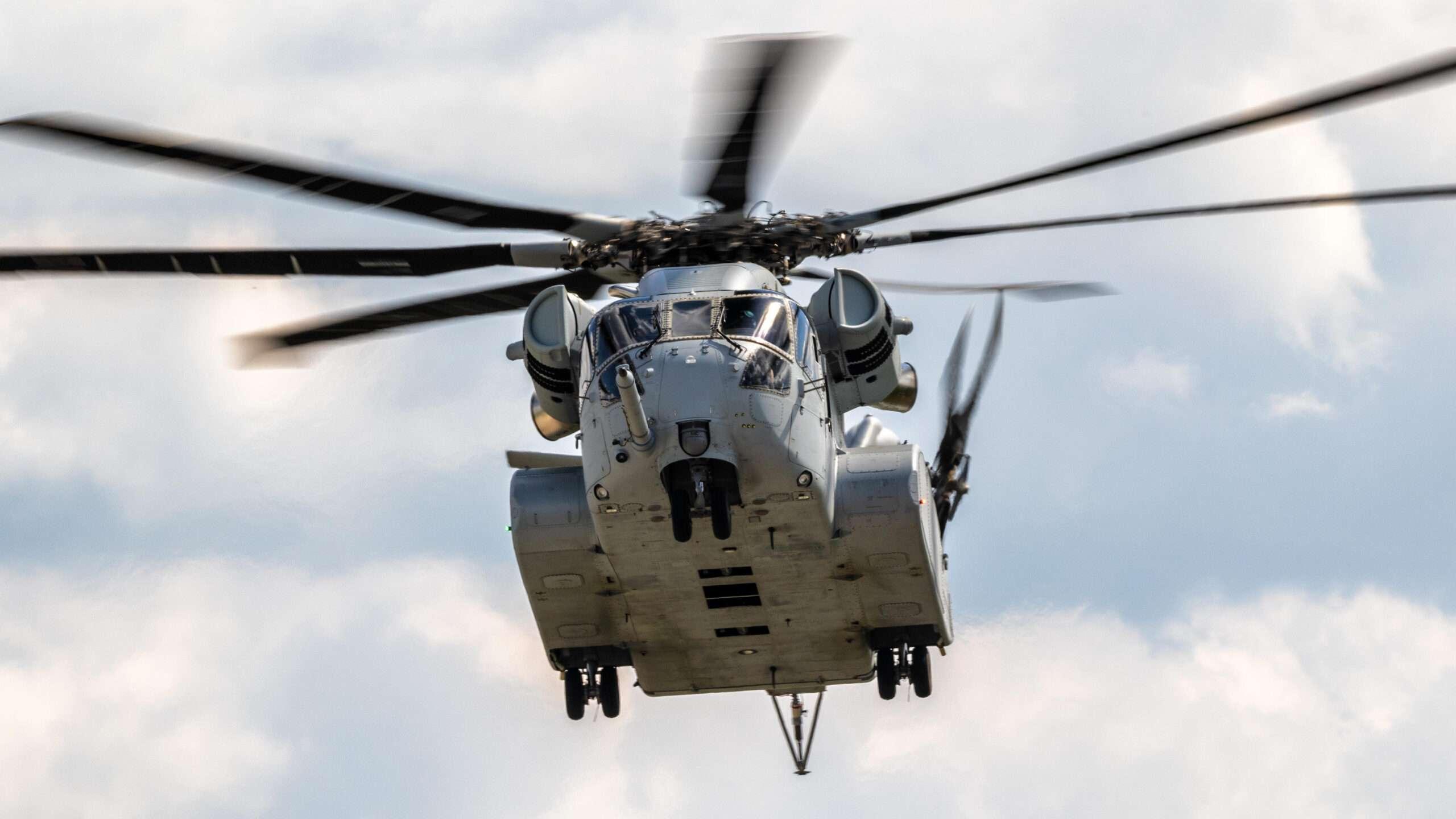 Bespoke CH-53K Simulator Controls