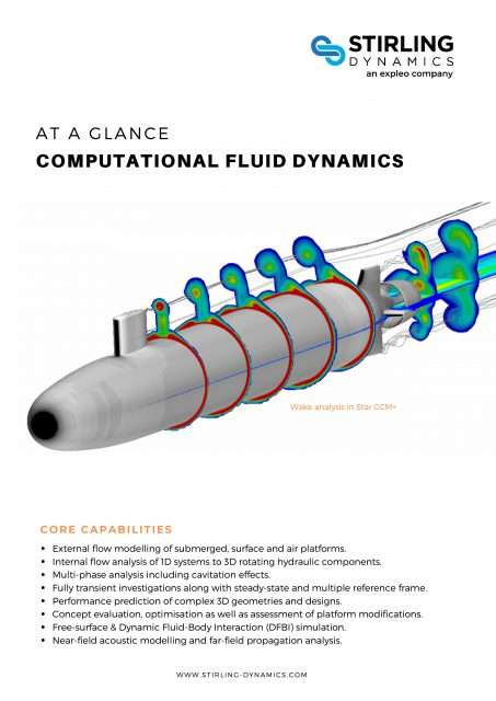 Computational Fluid Dynamics Capability Flyer