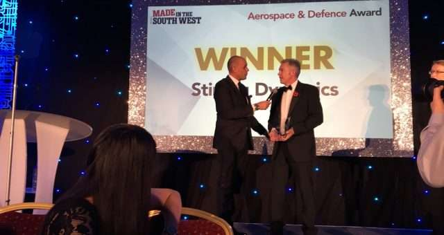 Stirling Aerospace Defence 2017 Award
